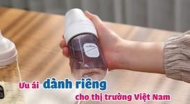 Bình Sữa PPSU - Tình Yêu Spectra Baby Dành Riêng Cho Thị Trường Việt Nam